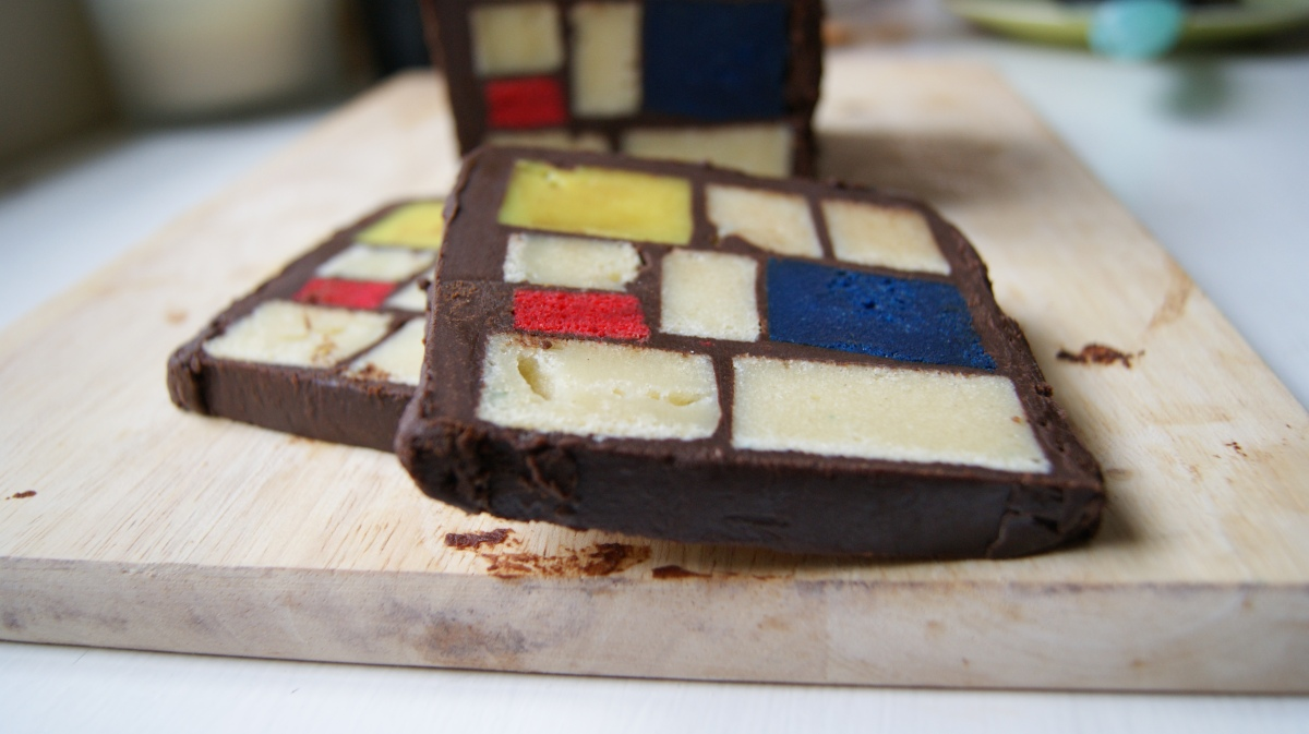 The Mondrian cake: part 3